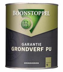 Boonstoppel Grondverf PU Wit 1 Liter