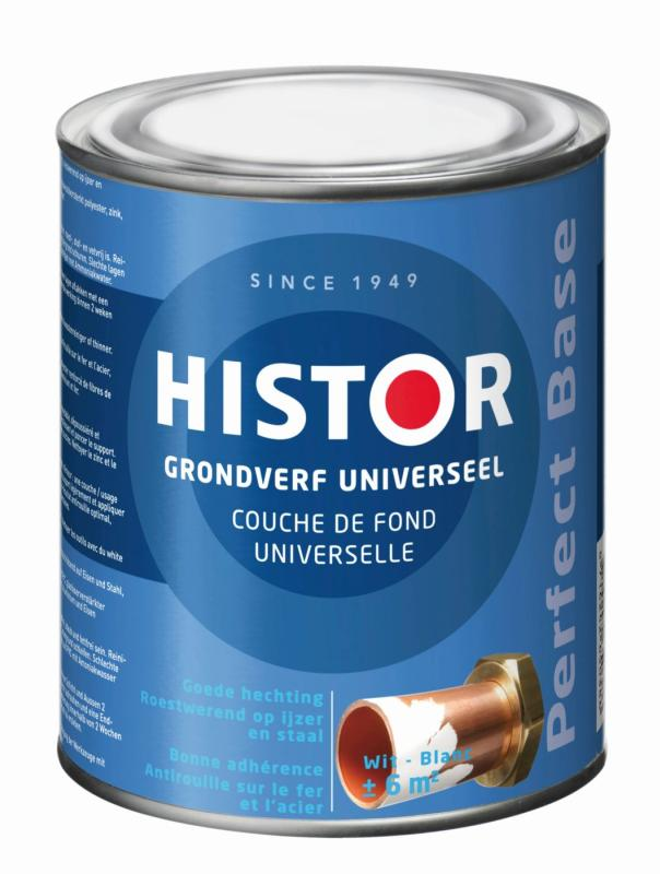 Histor Grondverf Perfect Base Universeel Wit 750 ml