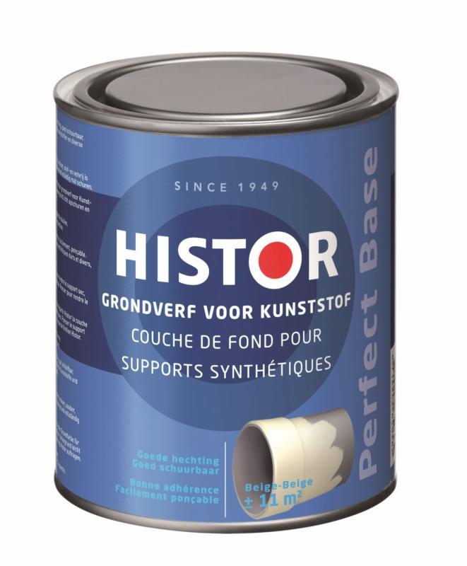 Histor Grondverf Perfect Base Kunststof Beige 750 ml