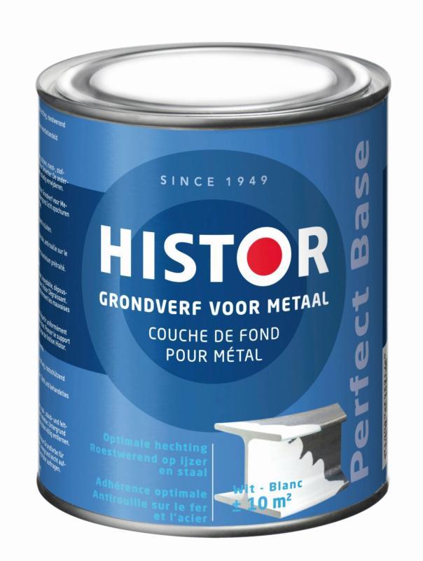Histor Grondverf Pefect Base Metaal Wit 750 ml