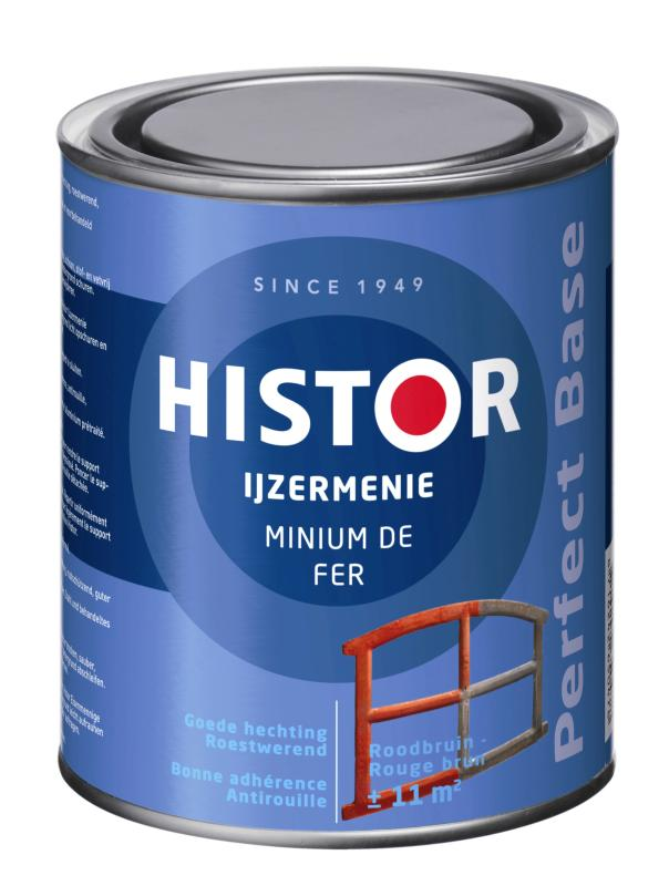 Histor IJzermenie Perfect Base Roodbruin 250 ml