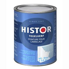 Histor Tegelverf Perfect Base Wit RAL 9010 - 750 ml
