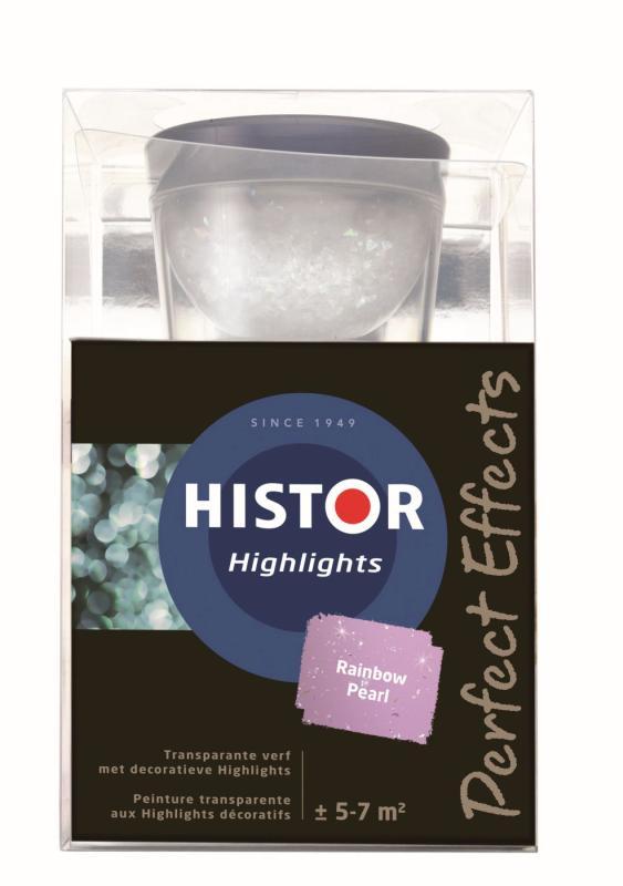 Histor Muurverf Highlights Rainbow Pearl 750 ml