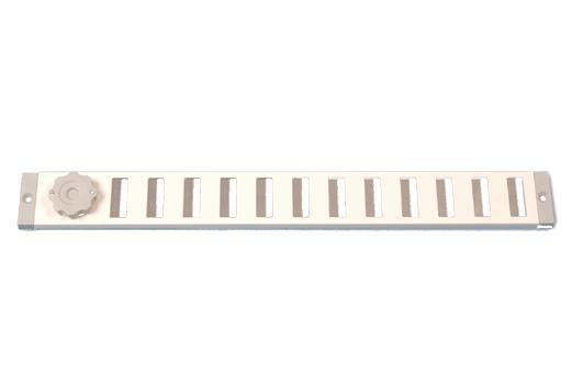 Schuifrooster Aluminium Wit 370 x 40 mm