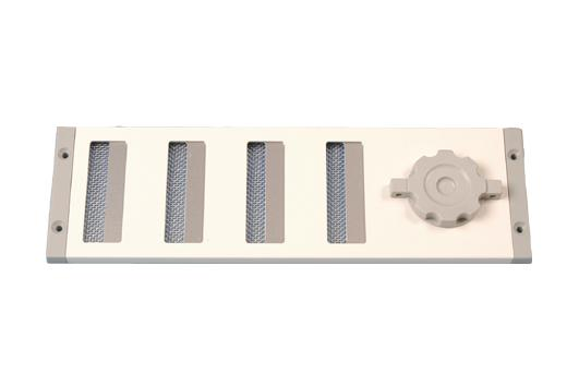 Schuifrooster Aluminium Wit 300 x 90 mm