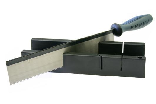 Verstekbak Steelwood Incl. Zaag - 25cm