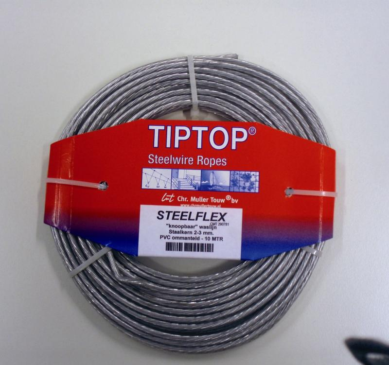 TipTop Waslijndraad Ø 3.4 mm 15 Meter