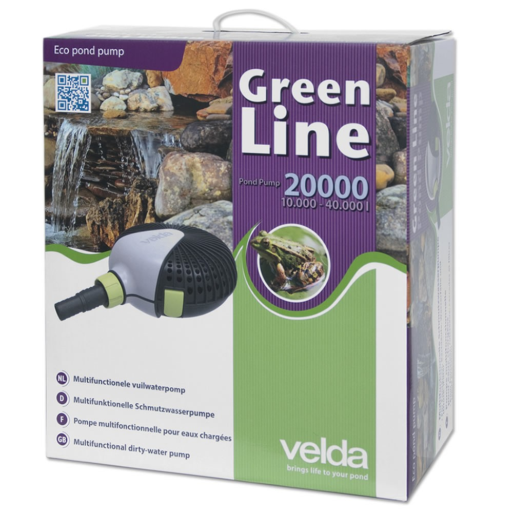 Velda Vijverpomp Green Line 20000