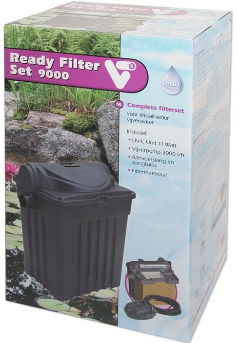 VT Vijverfilter Ready Filter Set 9000