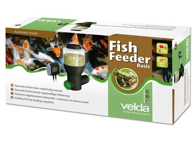 Velda Visvoeder Fish Feeder Basic Doos