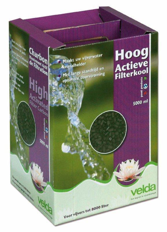Filtermaterialen Velda Hoog Actief Filterkool Doos