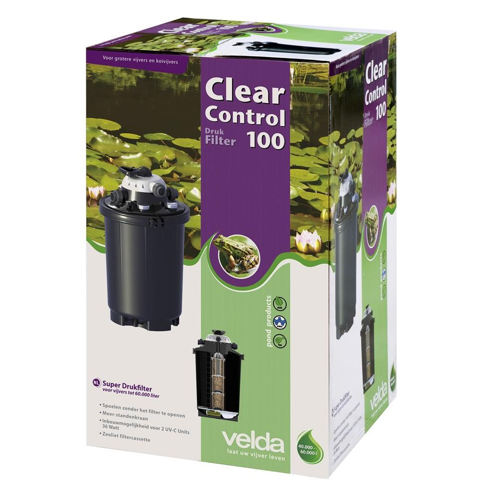 Velda Drukfilter Clear Control 100