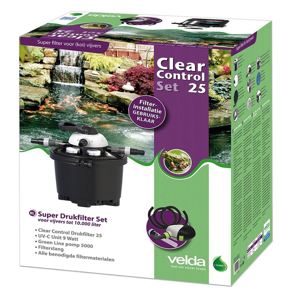 Velda Drukfilter Clear Control 25 Set