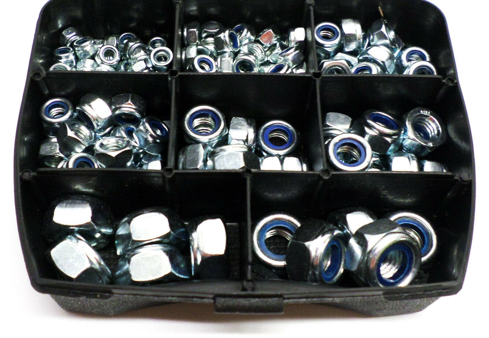 Borgmoeren DIN985 in assortimentsbox