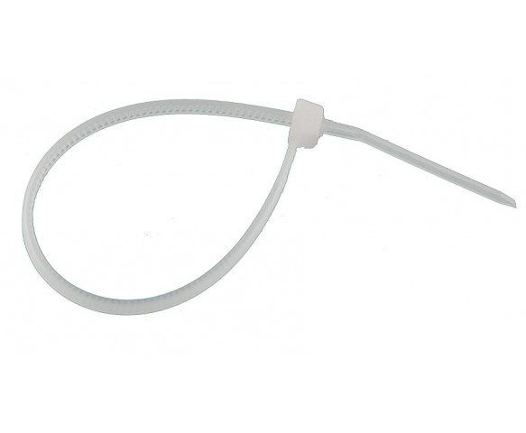 Kabelbinders wit 100 stuks
