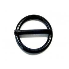 Ring met pin zwart