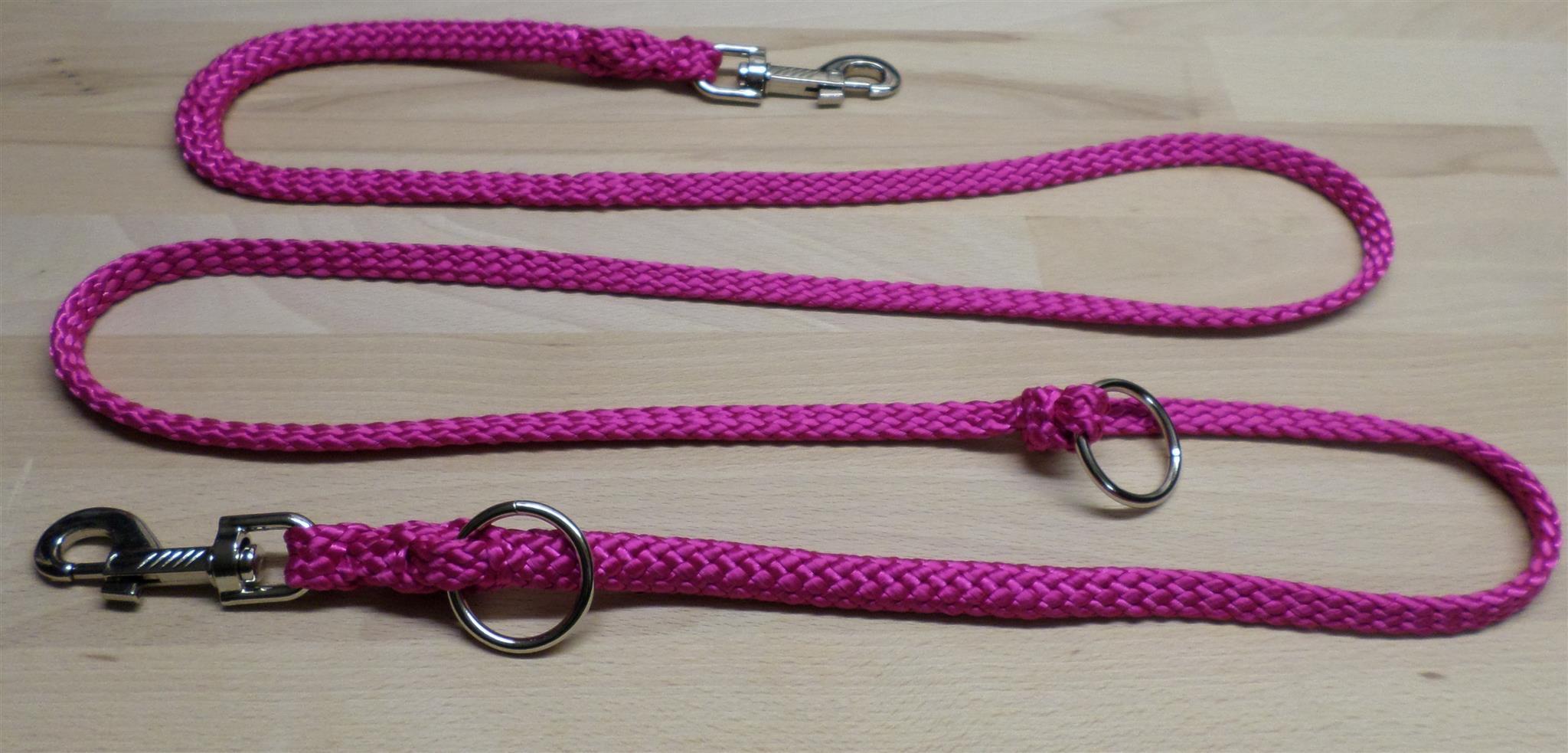 Roze hondenriem