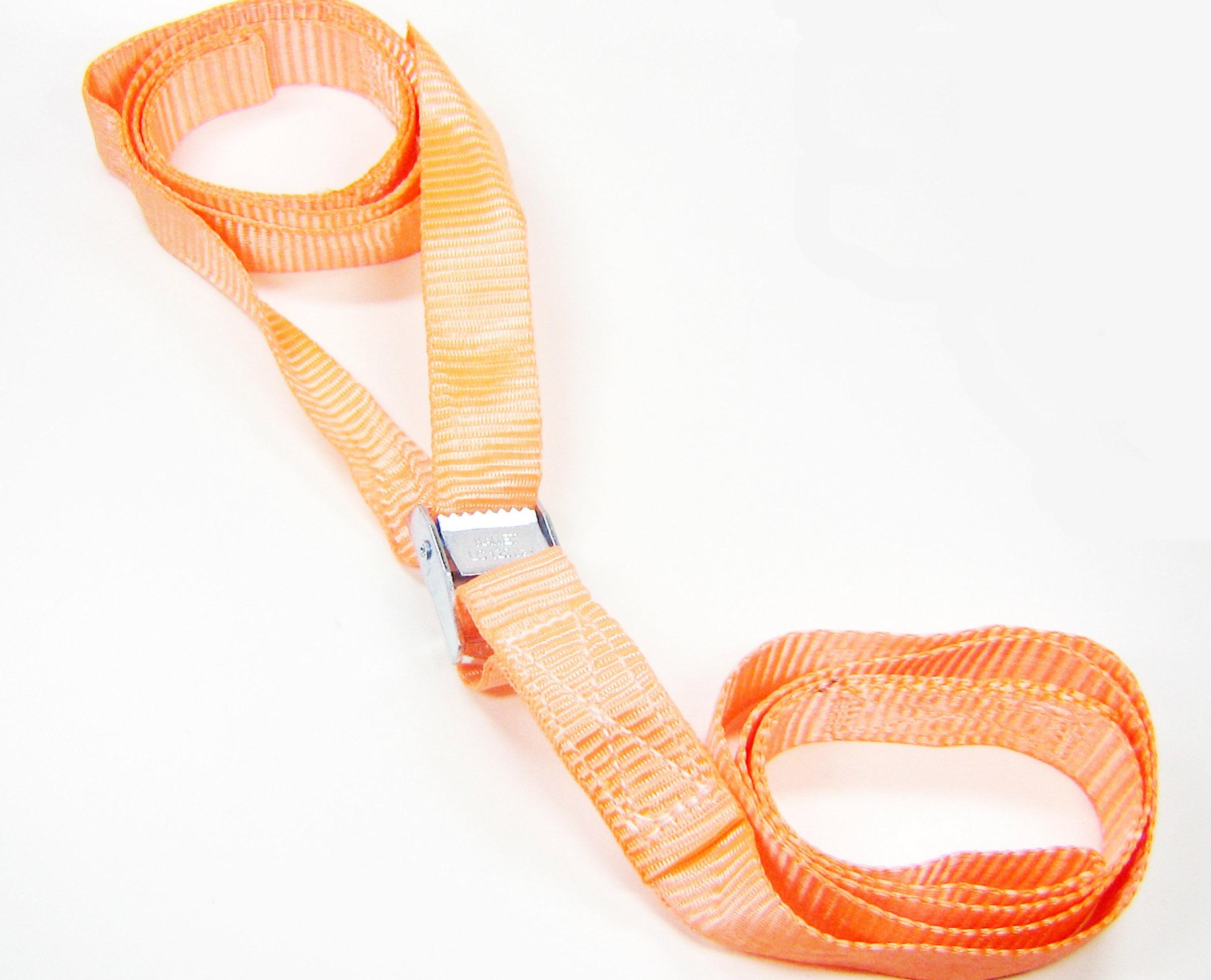 Spanbanden 25 mm met klemsluiting 2-dlg. met lussen