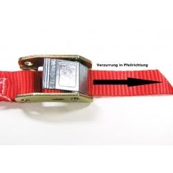Spanbanden 25 mm met tegenrichting klemsluiting