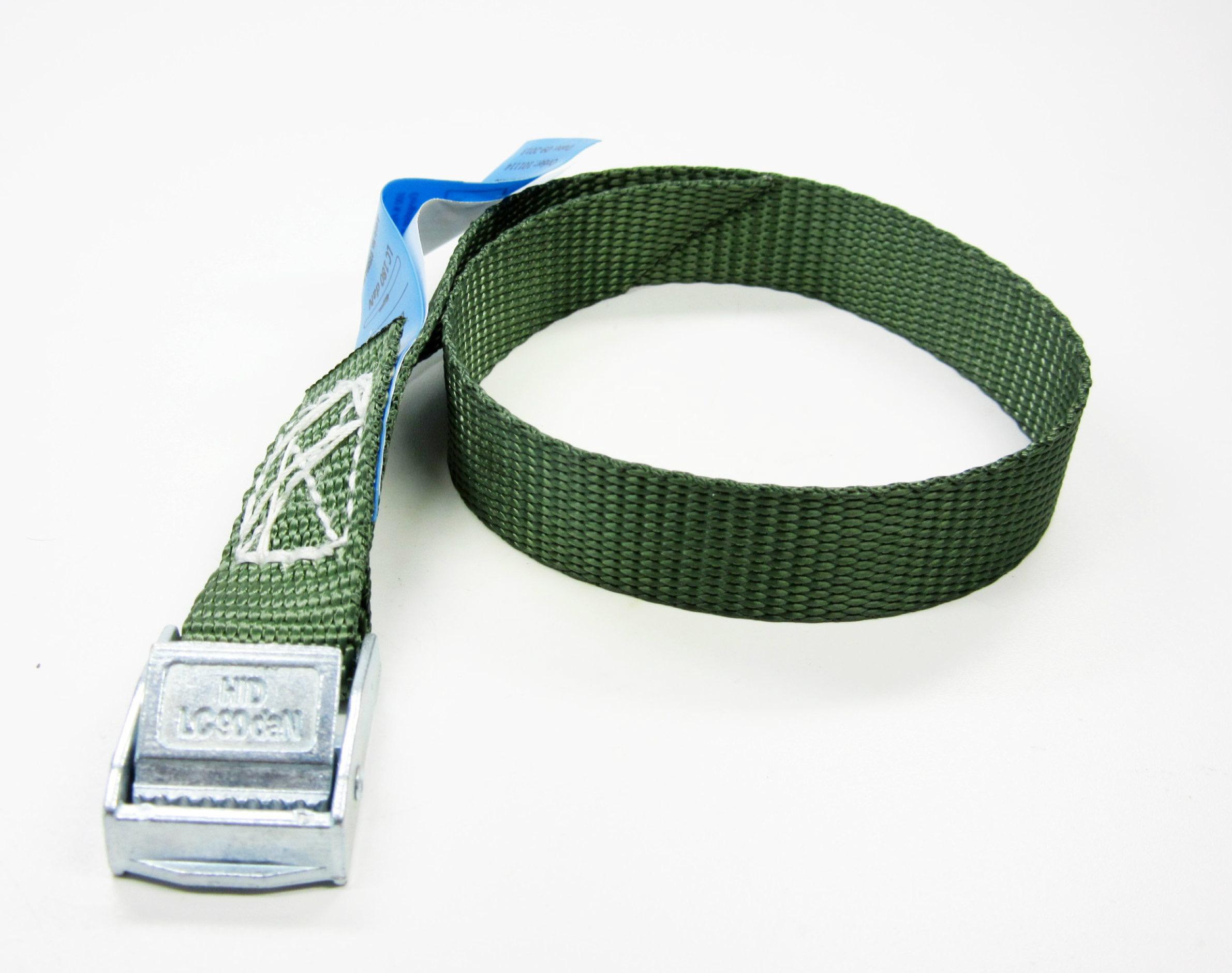 Spanbanden groen 20 mm met klemsluiting