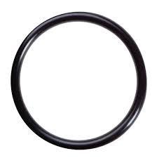 Zwarte ronde ringen