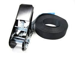 Zwarte spanbanden met ratel