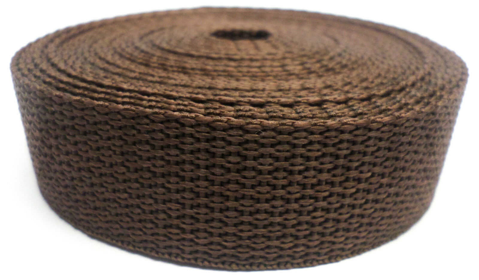 Band bruin op rol 25 mm 50 meter