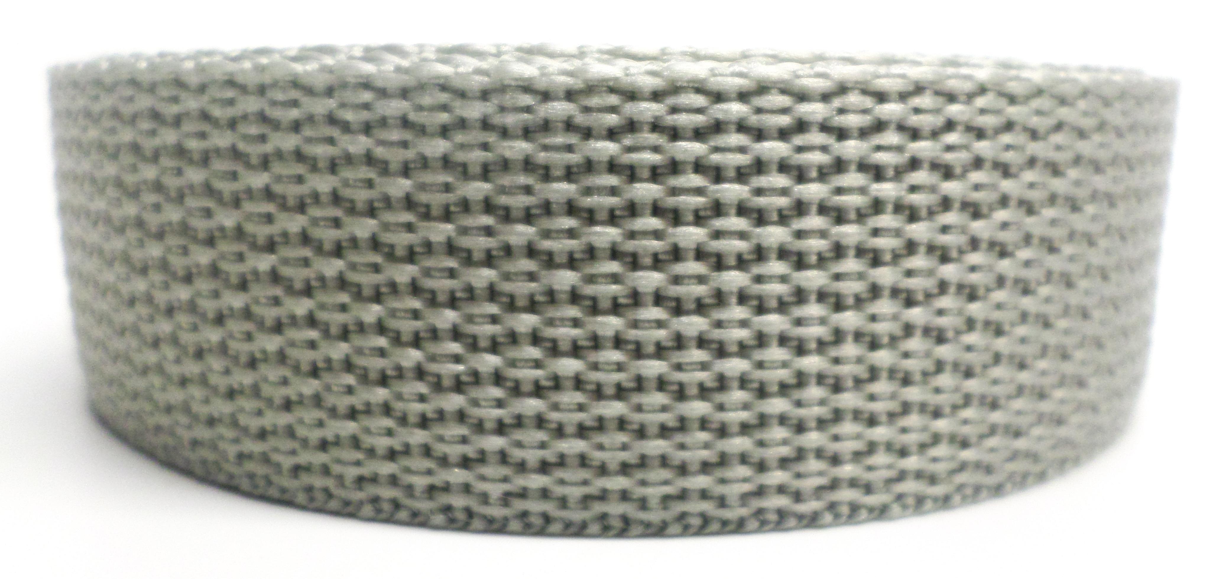 Band grijs op rol 25 mm 10 meter