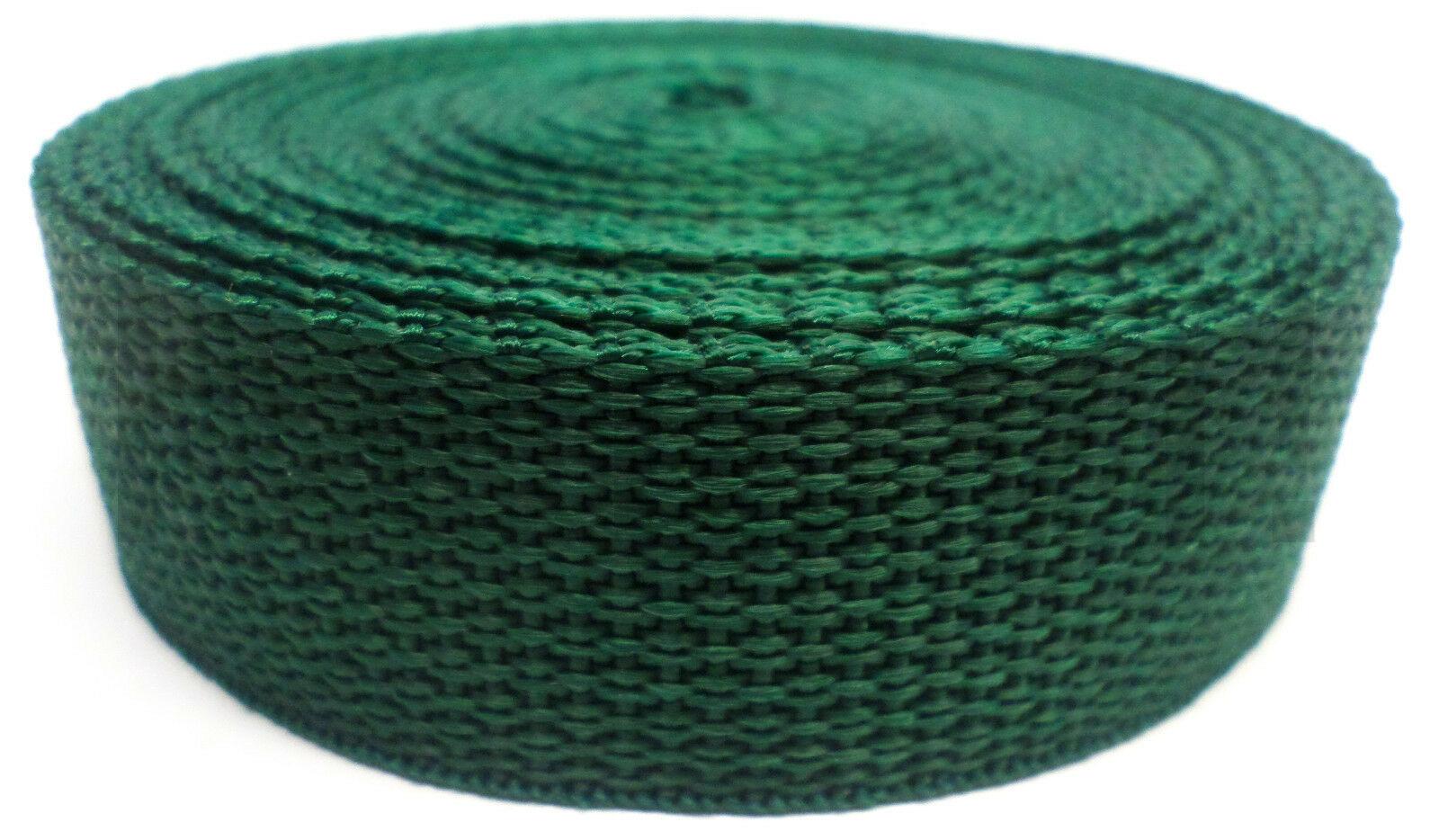 Band groen op rol 25 mm 10 meter