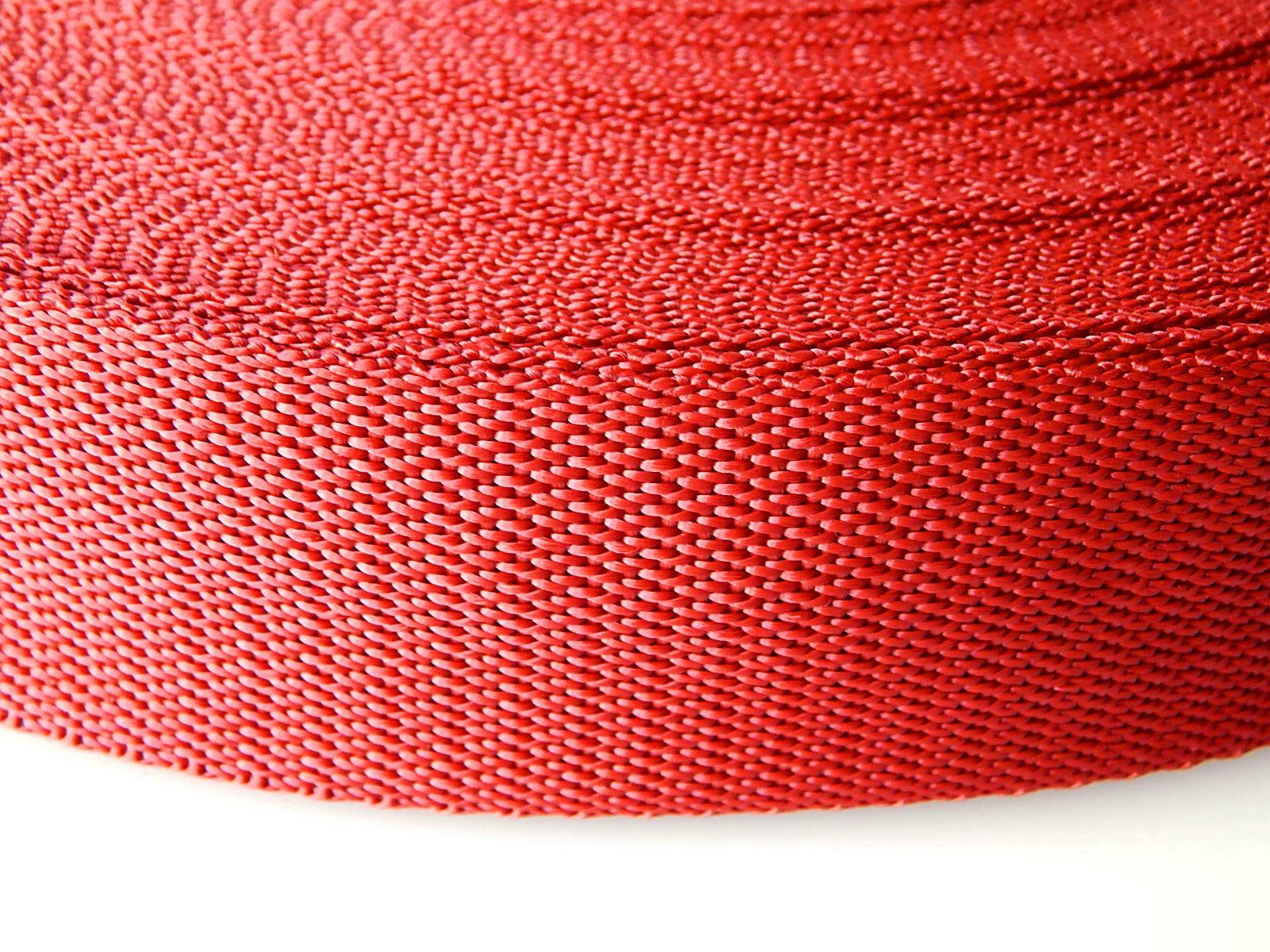 Band rood op rol 25 mm 5 meter