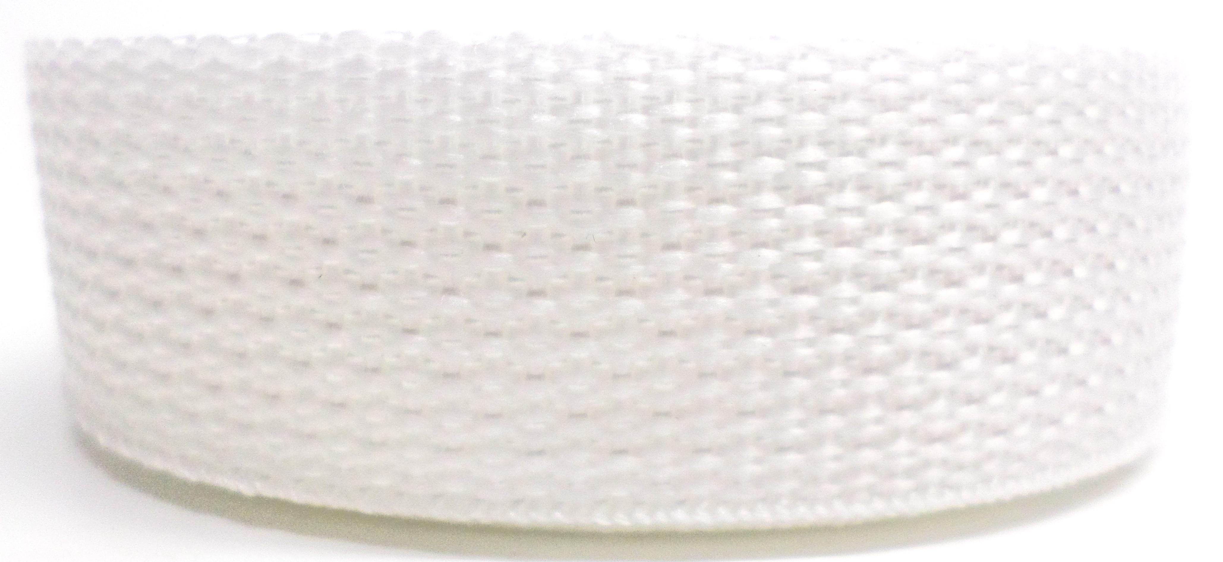 Band wit op rol 25 mm 50 meter