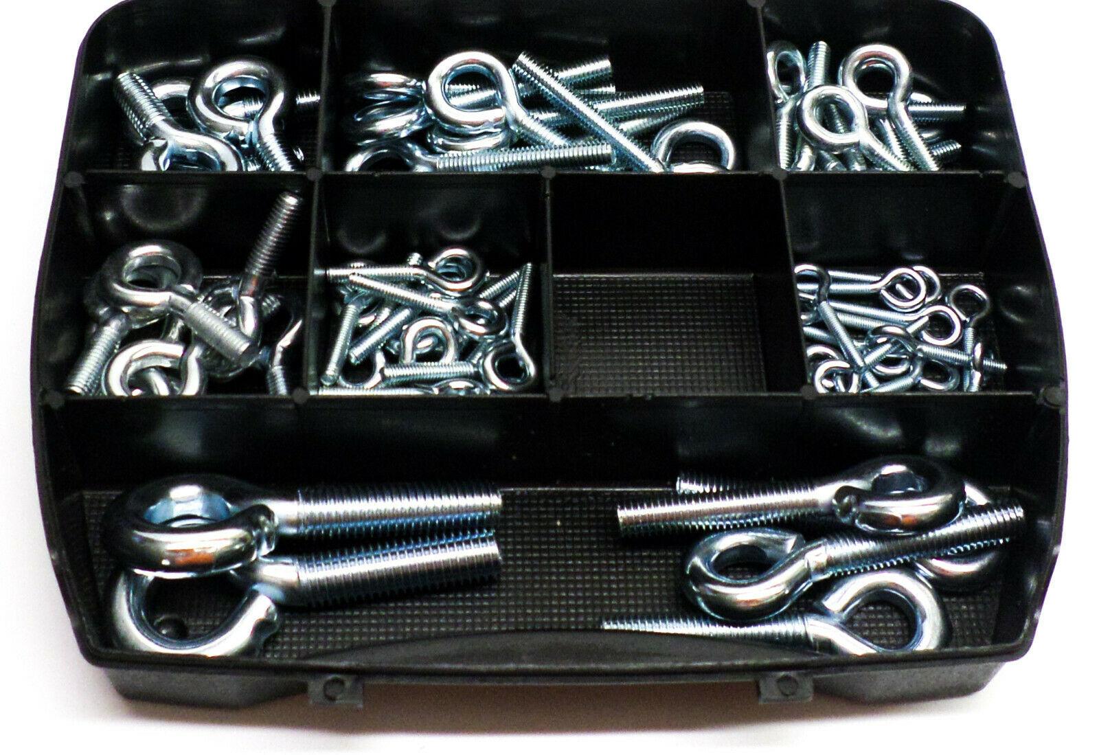 Schroefogen in assortimentsbox 67 stuks