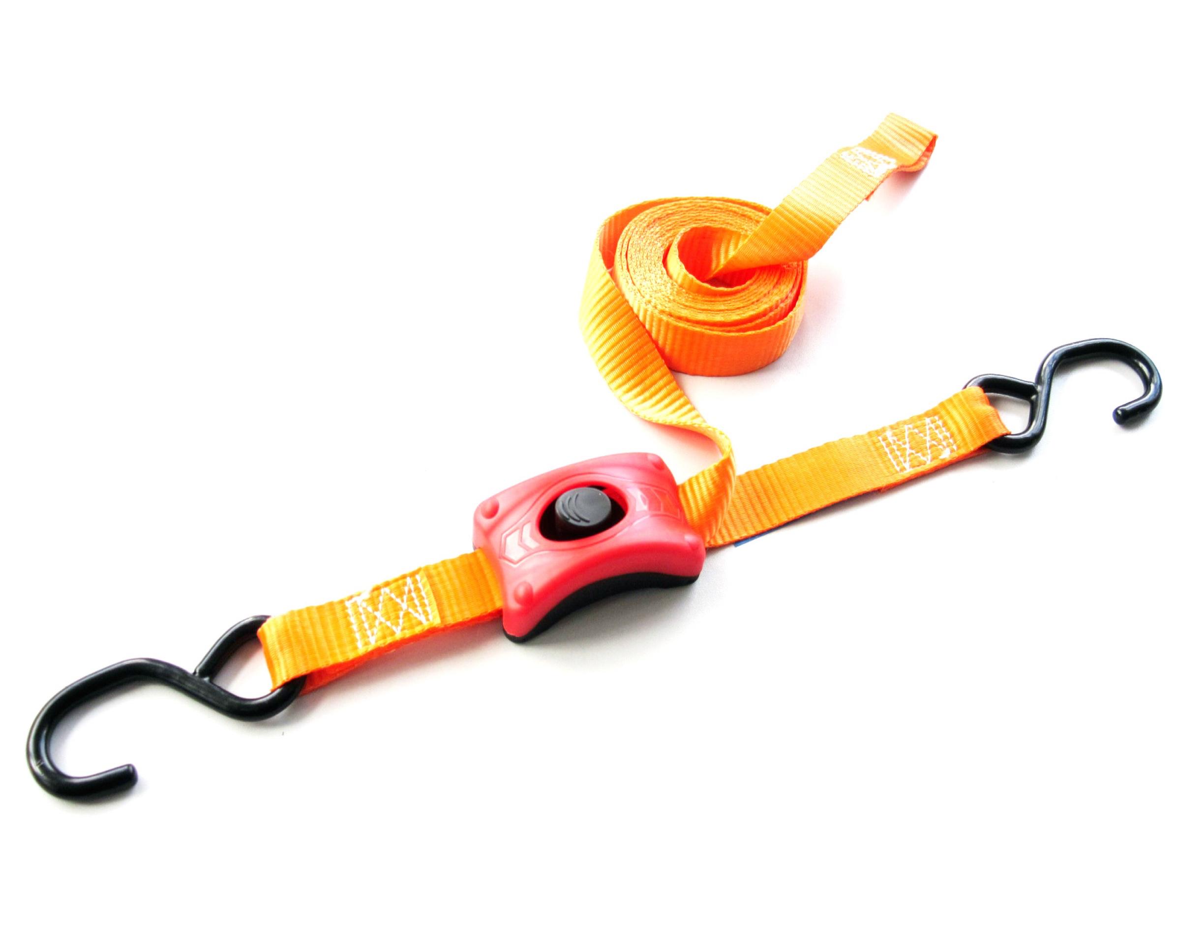 Spanband 25 mm met ingebouwde klemsluiting
