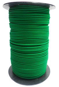 Elastisch koord op rol 3mm groen