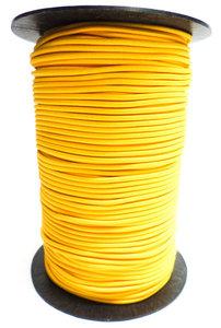 Elastisch koord op rol 4mm geel