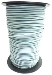 Elastisch koord op rol 3mm lichtblauw/grijs