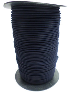 Elastisch koord op rol 4mm marineblauw