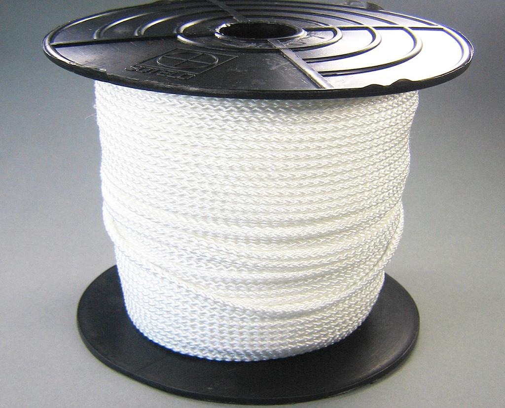 Touw nylon 3mm per rol 100 meter