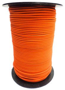 Elastisch koord op rol 3mm oranje