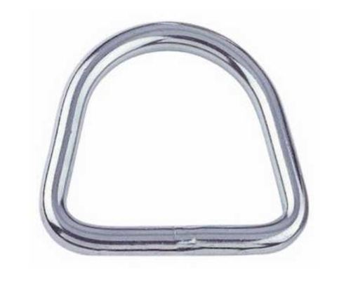 RVS D-Ring 6x30x27mm