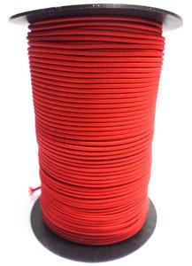 Elastisch koord op rol 5mm rood