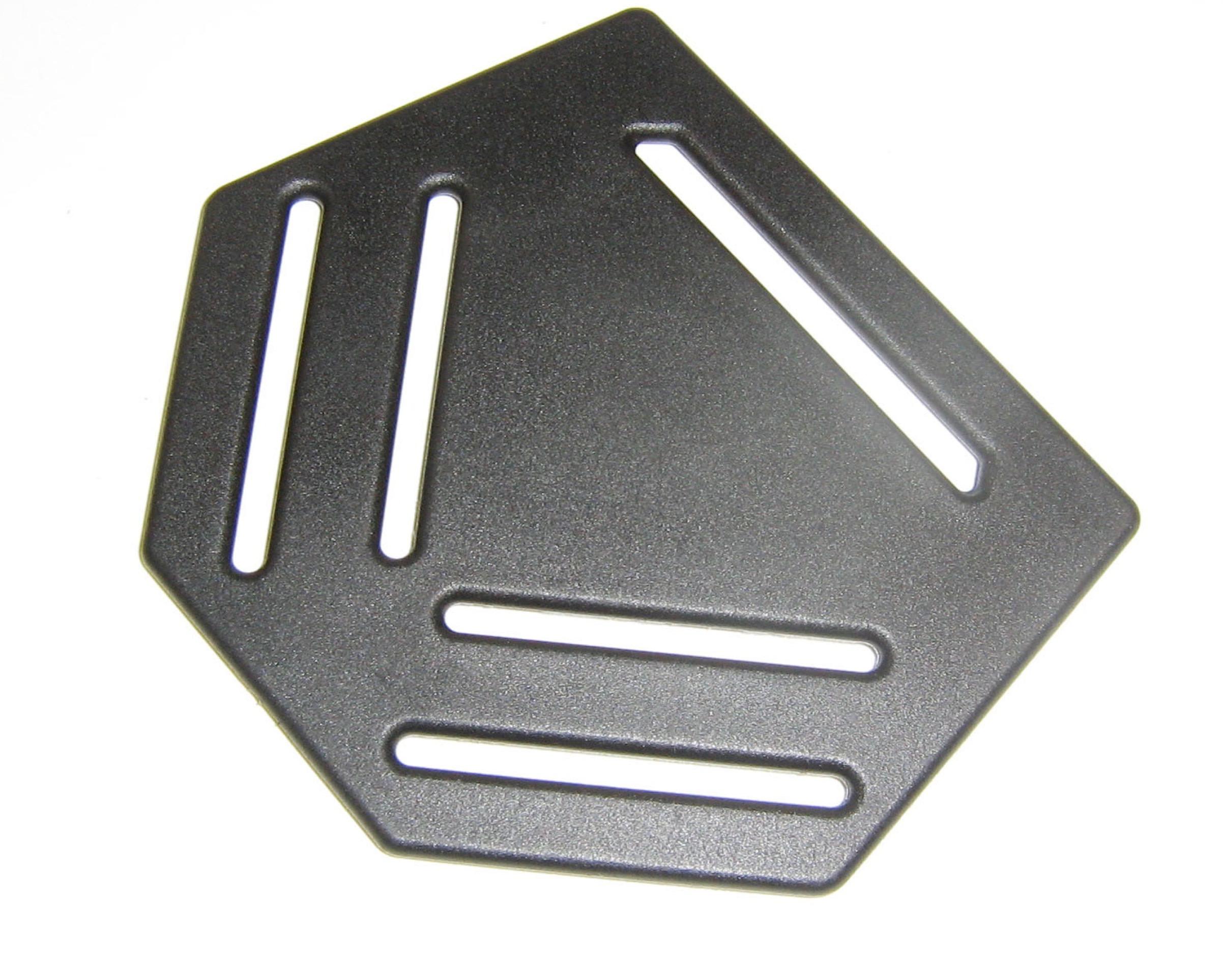 Rugplaat 45-55-BL