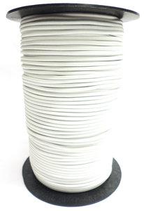 Elastisch koord op rol 4mm wit