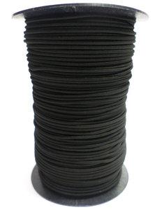 Elastisch koord op rol 6mm zwart