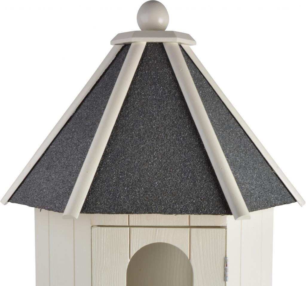 taubenhaus wei bitumen kiefernholz esschert design sale kaufen. Black Bedroom Furniture Sets. Home Design Ideas