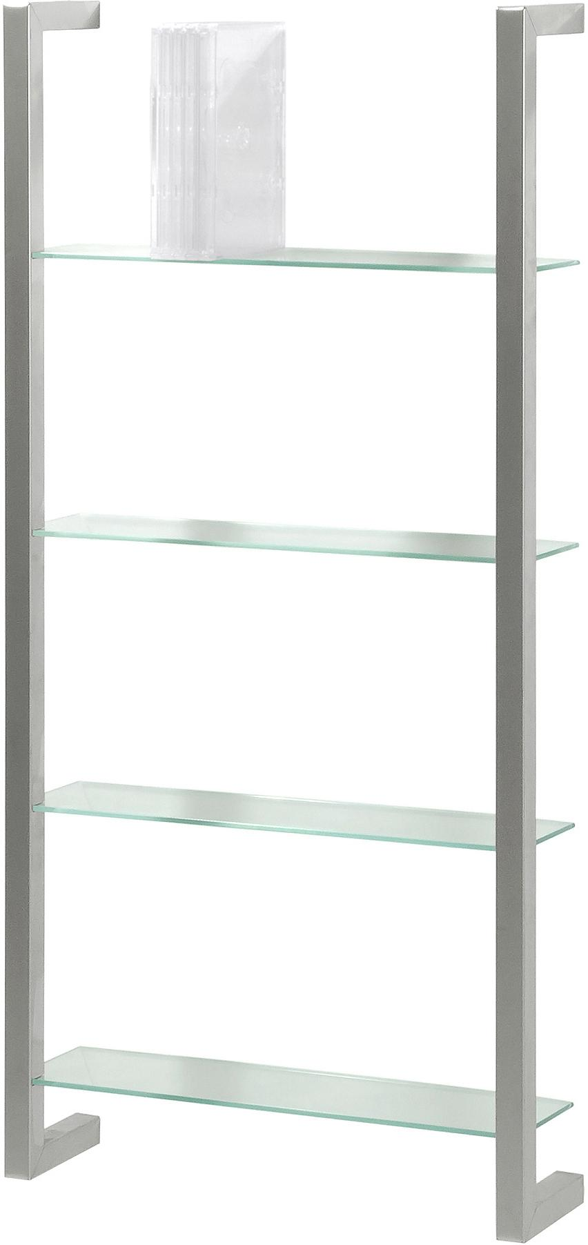 dvd regal cubic nickel glas m spinder design kaufen wohn und. Black Bedroom Furniture Sets. Home Design Ideas