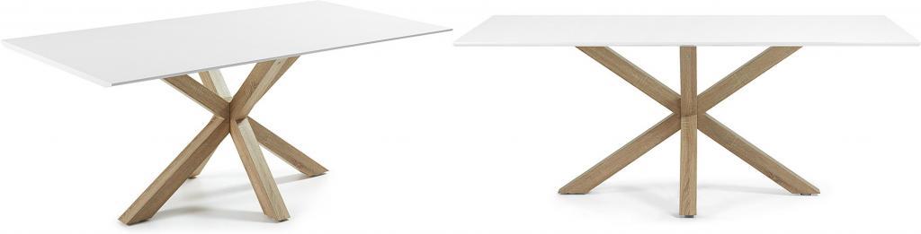 esstisch arya naturell wei furnier 200x100 la forma kaufen wohn. Black Bedroom Furniture Sets. Home Design Ideas