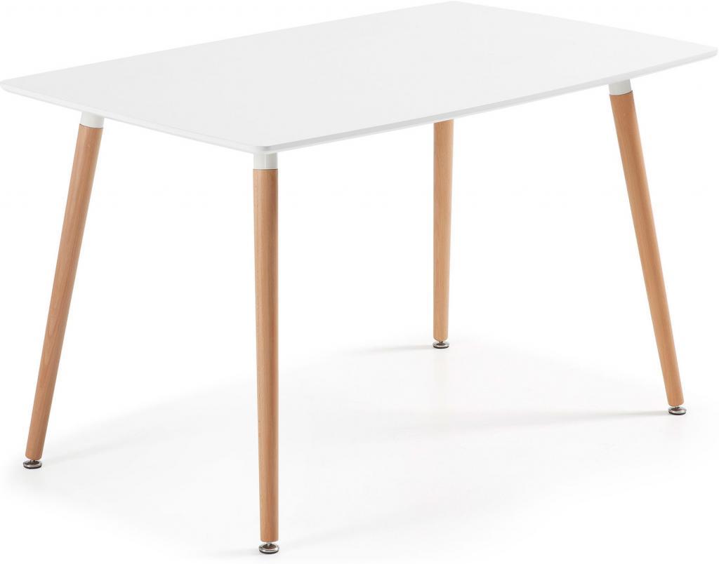 tisch wad wei 140x80 la forma kaufen wohn und lifestylewebshop. Black Bedroom Furniture Sets. Home Design Ideas