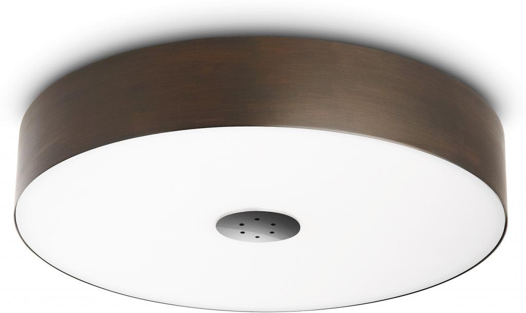 Deckenlampe fair ecomoods rund chrom philips for Deckenlampe rund
