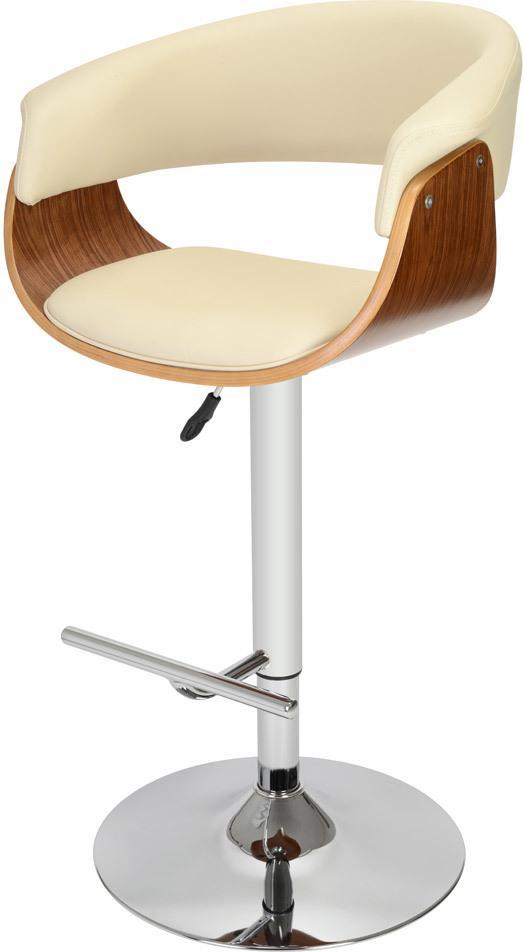 Barhocker oslo beige mit armlehnen la chaise longue for Barhocker beige